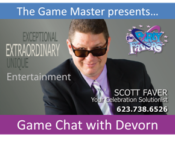Game Chat With Devorn Blueitt, EMail
